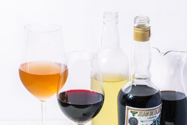 Drinques com vinho