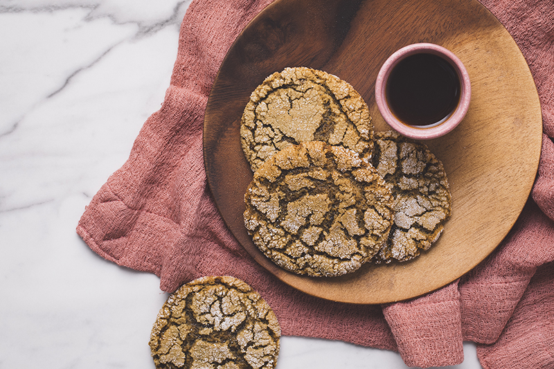 Cookie de gengibre