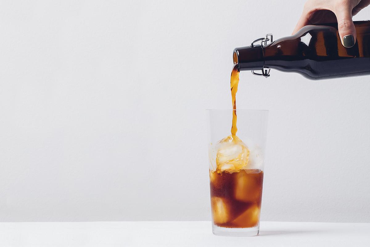 Café gelado (cold brew)